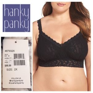 HANKY PANKY | Plus Size Bralette new with tags 2X